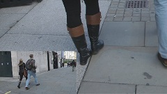 candid-girl-leather-boots